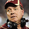 Coach Jimbo Fisher issues commands to his players during the Champs Sports Bowl on Dec. 29th.