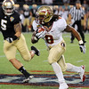 Devonta Freeman (8) runs the ball during the Champs Sports Bowl on Dec. 29th.
