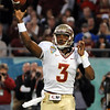 EJ Manuel (3) throws the ball during the Champs Sports Bowl on Dec. 29th.