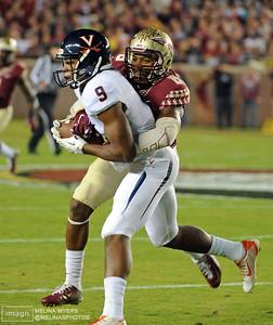 NCAA Football: Virginia at Florida State