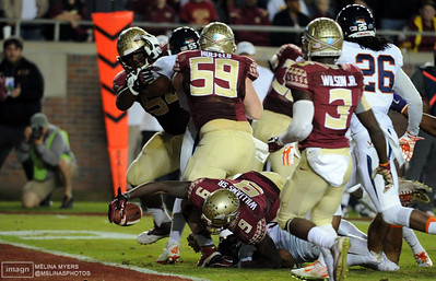 NCAA Football: Virginia at Florida State