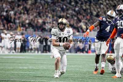 NCAA FOOTBALL:  Chick-fil-A Peach Bowl - UCF defeats Auburn 34 - 27