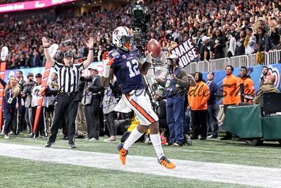 NCAA FOOTBALL:  Chick-fil-A Peach Bowl - UCF defeats Auburn 34 - 27