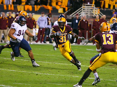 Arizona State Footbal, ASU vs. UofA December 1, 2007