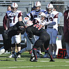 J.S.CARRAS - JCARRAS@DIGITALFIRSTMEDIA.COM   Union College against Rensselaer Polytechnic Institute during fourth quarter of college football action Saturday, November 15, 2014 at ECAV Stadium in Troy, N.Y..