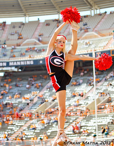 NCAA Football 2013- Georgia beats Tennessee 34-31 in OT
