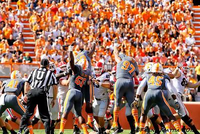 NCAA Football 2013- Georgia beats Tennessee 34-31 in OT