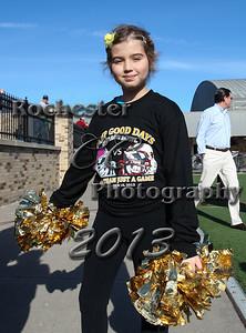 Honorary cheerleader