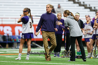 Head Coach John Battaglino, Assistant Coach Jessica Davos