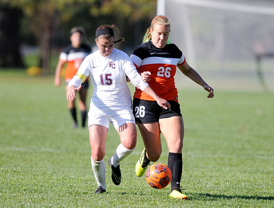 Don Knight | The Herald Bulletin Anderson University hosted Earlham College on Wednesday.