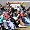 Don Knight | The Herald Bulletin<br /> Fans react as Anderson University scored a goal early against Earlham College on Wednesday.