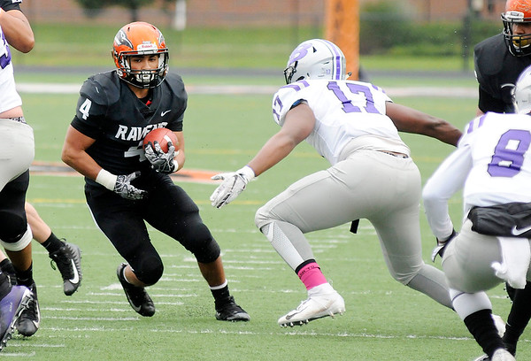 Don Knight   The Herald Bulletin<br /> Anderson University hosted Bluffton on Saturday.