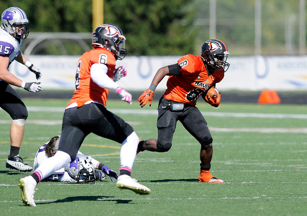 Don Knight   The Herald Bulletin<br /> AU hosted Bluffton for homecoming on Saturday.