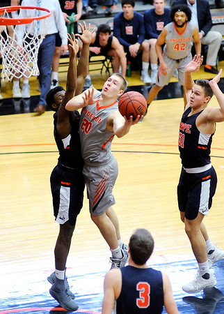 Don Knight   The Herald Bulletin<br /> Anderson University hosted Hope College on Saturday.