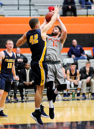 Don Knight   The Herald Bulletin<br /> Anderson University hosted Franklin College on Wednesday.