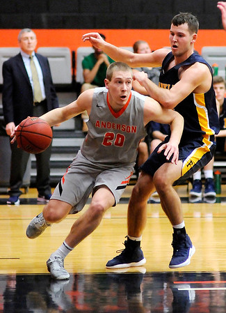 Don Knight | The Herald Bulletin<br /> Anderson University hosted Franklin College on Wednesday.