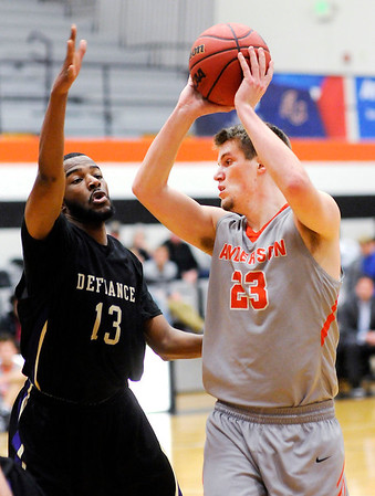 Don Knight | The Herald Bulletin<br /> Anderson University hosted Defiance College on Wednesday.