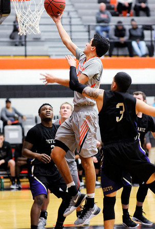 Don Knight   The Herald Bulletin<br /> Anderson University hosted Defiance College on Wednesday.