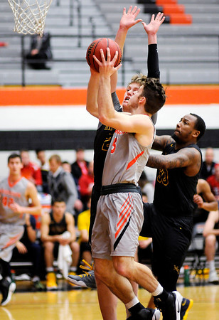 Don Knight   The Herald Bulletin<br /> Anderson University hosted Marian on Wednesday.