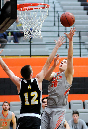 Don Knight   The Herald Bulletin<br /> Anderson hosted Manchester on Wednesday.