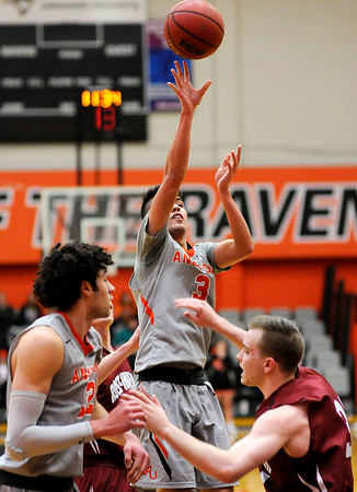 Don Knight   The Herald Bulletin<br /> Anderson University hosted Rose-Hulman on Wednesday.