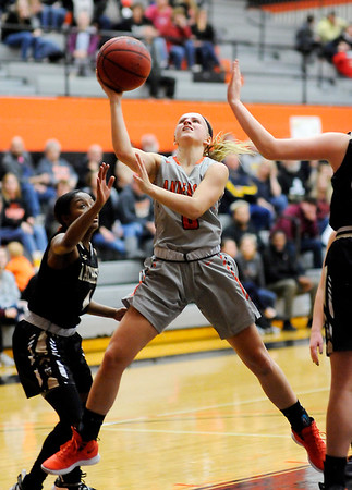 Don Knight   The Herald Bulletin<br /> Anderson University hosted Manchester on Wednesday.