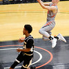 Don Knight | The Herald Bulletin<br /> Anderson University's Trevor Lucas soars into the lane ona fast break as the Ravens hosted Manchester on Wednesday.
