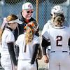 John P. Cleary | The Herald Bulletin<br /> Anderson University vs Trine in women's softball.