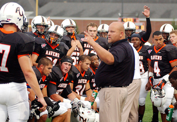 AU opened their 2012 football season Saturday evening against Taylor in the Wagon Wheel game.