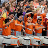 AU's drum corp was dressed up for the opening game of the football season.