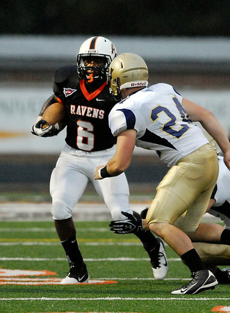 AU's Caleb Anderson looks for running room on a punt return.