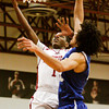 Indiana University Southeast guard Kevin Mitchell goes up for a shot during their home game against Berea College on Tuesday. Staff photo by Christopher Fryer