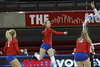 SMU vs Cincinnati Volleyball ay Moody Coliseum in Dallas, Texas on September 24, 2016. (Photo by/Sharon Ellman)