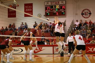 2005 University of Utah Volleyball 9-15-2005