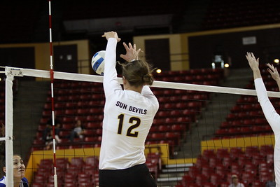 2012 ASU Volleyball - Macey Gardner - 5782