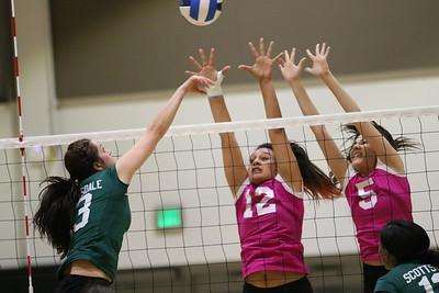 2014 SSC vs Chandler Gilbert Volleyball 10-29-14