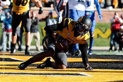 MFB 2014:  University of Missouri Tigers vs University of Kentucky Wildcats