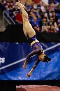 NCAA GYMNASTICS: APR 14 Women's National Championship