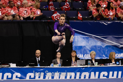 NCAA GYMNASTICS: APR 14 Women's National Championship