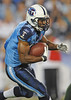 Sep 3, 2009; Nashville, TN, USA; Tennessee Titans running back Javon Ringer (21) runs against the Green Bay Packers during the first half at LP Field. The Titans beat the Packers 27-13. Mandatory Credit: Don McPeak-US PRESSWIRE