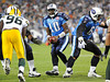 Sep 3, 2009; Nashville, TN, USA; Tennessee Titans quarterback Vince Young (10) takes the snap against the Green Bay Packers during the first half at LP Field.  Mandatory Credit: Don McPeak-US PRESSWIRE
