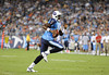 Sep 3, 2009; Nashville, TN, USA; Tennessee Titans quarterback Vince Young (10) scrambles for a touchdown against the Green Bay Packers during the first half at LP Field. Mandatory Credit: Don McPeak-US PRESSWIRE