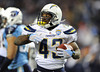 Dec 25, 2009; Nashville, TN, USA; San Diego Chargers running back Darren Sproles (43) after scoring a touchdown against the Tennessee Titans during the second half at LP Field. The Chargers beat the Titans 42-17. Mandatory Credit: Don McPeak-US PRESSWIRE
