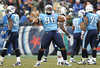 Dec 20, 2009; Nashville, TN, USA; Tennessee Titans defensive tackle Kevin Vickerson (96) celebrates after a big stop against the Miami Dolphins during the second half at LP Field. The Titans beat the Dolphins 27-24. Mandatory Credit: Don McPeak-US PRESSWIRE