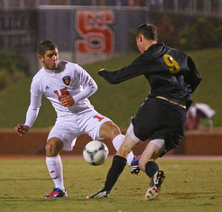 VMI at NC State soccer 10-29-2012