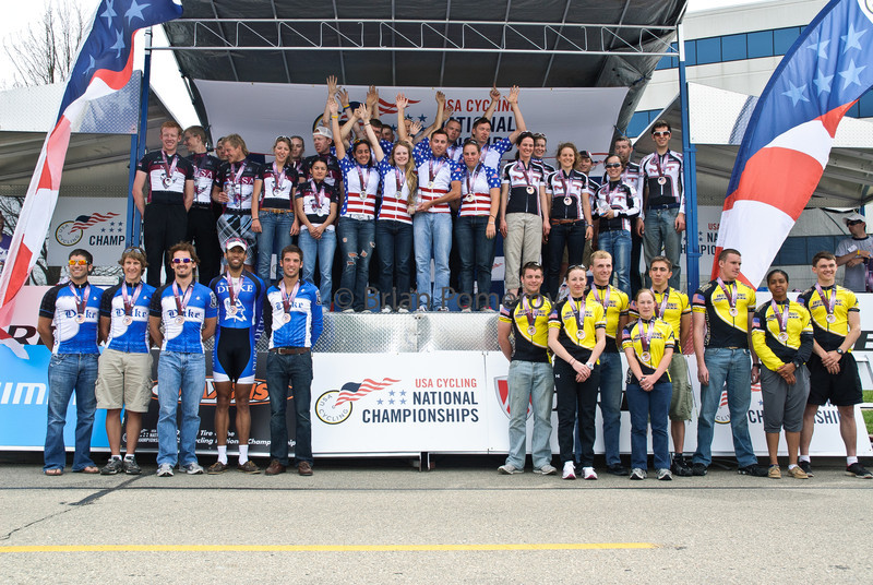 Division II team omnium winners