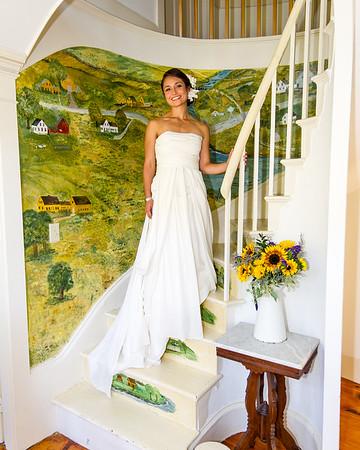 Collin and Teresa wedding on September 27, 2014, in Thomaston, Maine