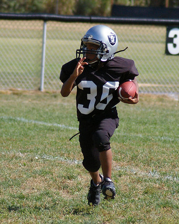 Collinsville Raider Football 7 to 9 Year Olds