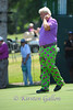 John Daly finishing up his round.