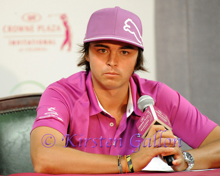 RICKIE FOWLER<br /> COLONIAL PRO AM 2013